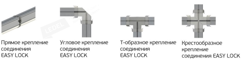 Коннекторы Easy Lock L-trade II 130  Рис. 1> 		  								  					</div> 		  				</div> 	  					  					  				 	  				<!-- Габаритные размеры --> 	  					  				 	  				<!-- Опции --> 	  					  				 	  				<!-- Диаграммы светового распределения --> 	  					  					<div class=